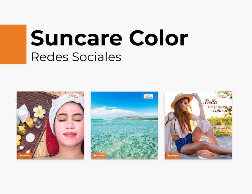 Portada Behance - Suncare Color Redes Sociales