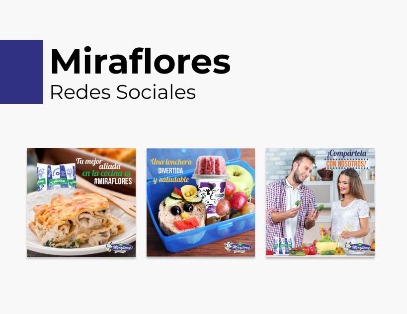 Portada Behance - Miraflores Redes Sociales