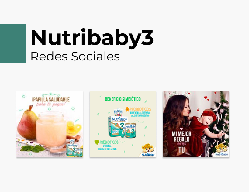 Portada Behance - Nutribaby3 Redes Sociales