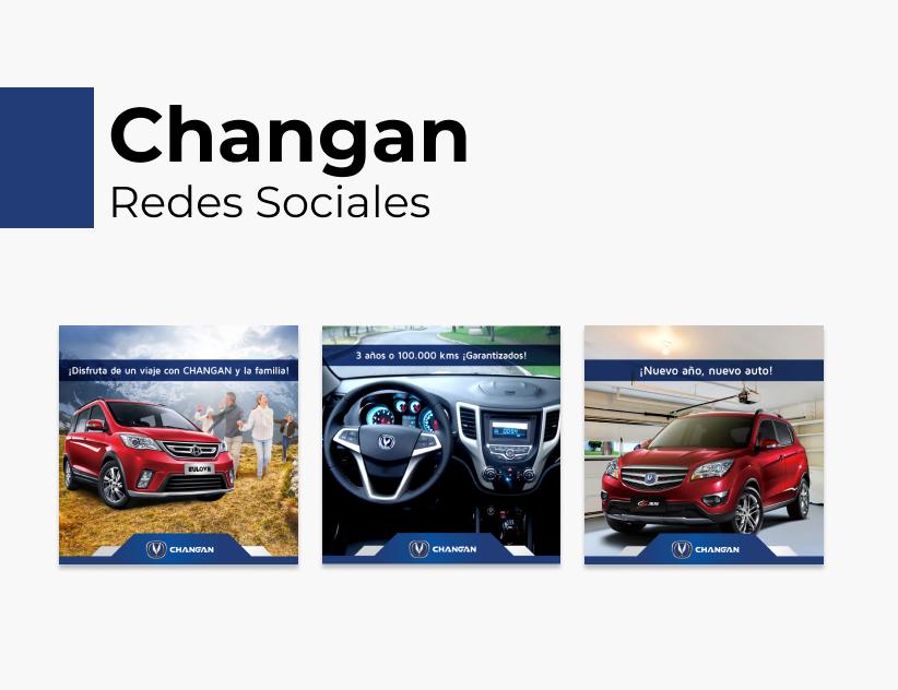 Portada Behance - Changan Redes Sociales