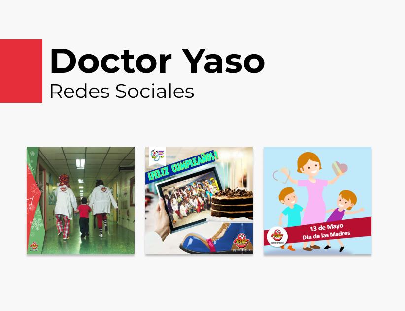 Portada Behance - Doctor Yaso Redes Sociales