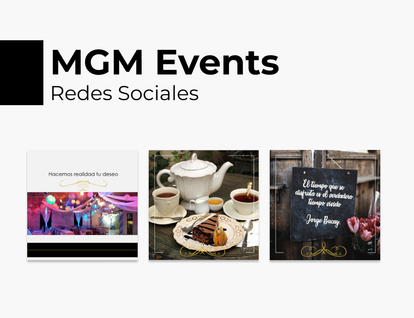 Portada Behance - MGM Events Redes Sociales